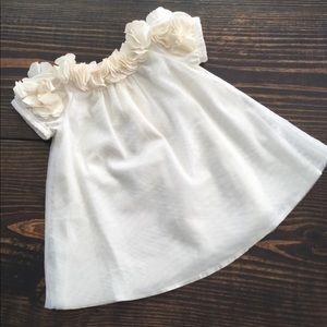 Baby Gap floral appliqué Dress